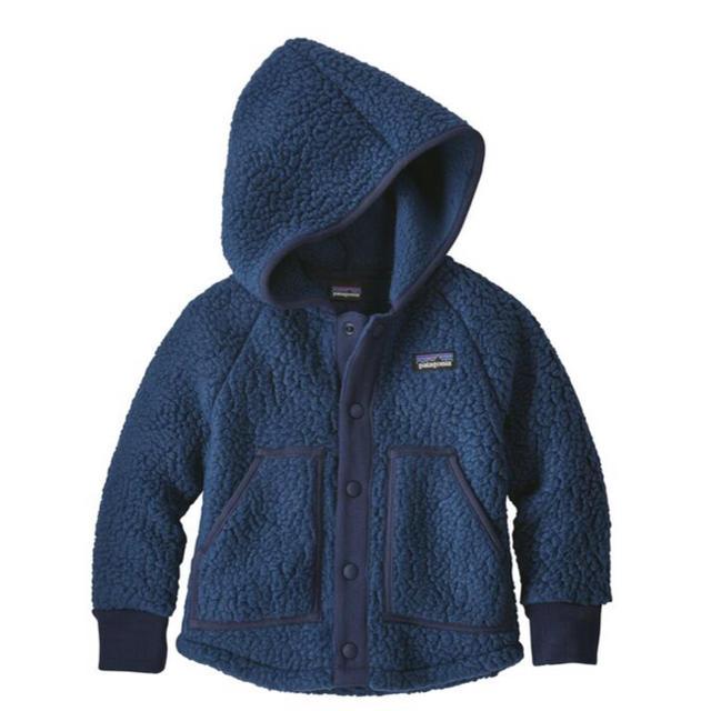 patagonia(パタゴニア)のパタゴニア レトロ パイル ジャケット キッズ/ベビー/マタニティのキッズ服男の子用(90cm~)(ジャケット/上着)の商品写真