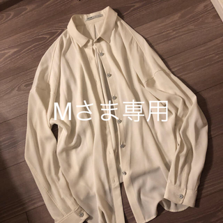 DEUXIEME CLASSE - アッパーハイツ とろみシャツレディース