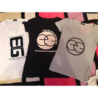 EGOIST - EGOIST Tシャツ 3着セット