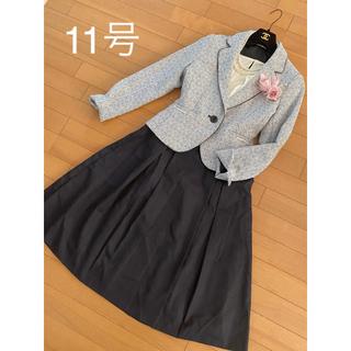 COMME CA ISM - 【新品】11号/L/2wayビジュー付きジャケットコムサ3点セット入学式 卒業式
