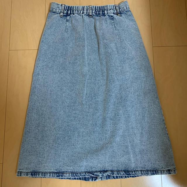 AS KNOW AS(アズノウアズ)のデニムスカート アズノウアズ レディースのスカート(ロングスカート)の商品写真
