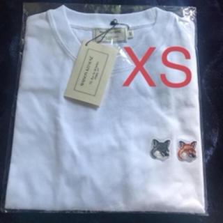 メゾンキツネ(MAISON KITSUNE')のメゾンキツネ Tシャツ XS(Tシャツ/カットソー(半袖/袖なし))