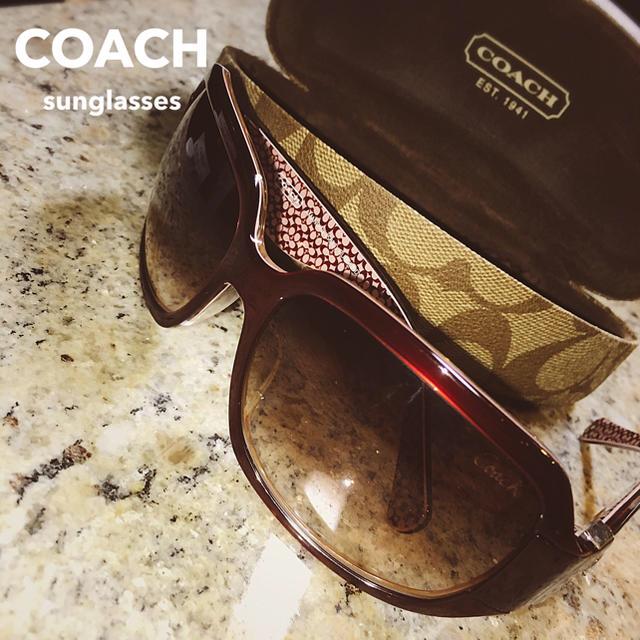 COACH(コーチ)の【coach/コーチ】サングラス 【ケース、クロス付】 レディースのファッション小物(サングラス/メガネ)の商品写真