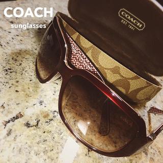 COACH - 【coach】サングラス 【ケース、クロス付】