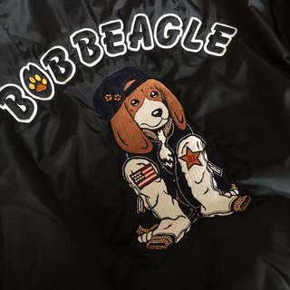 イーストボーイ(EASTBOY)の希少 イーストボーイ ボブビーグル 刺繍  MA-1 ジャンパー ビーグル 犬(フライトジャケット)