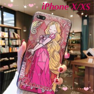 Disney - 〖激安〗 iPhone X/XS ケース 3D ラプンツェル✦ステンドグラス