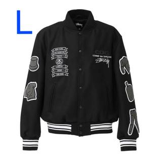 STUSSY - STUSSY CDG Varcity Jacket サイズ L