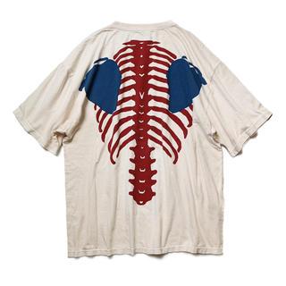 キャピタル(KAPITAL)のKapital Bone Skeltone 骨 Tシャツ(Tシャツ/カットソー(半袖/袖なし))