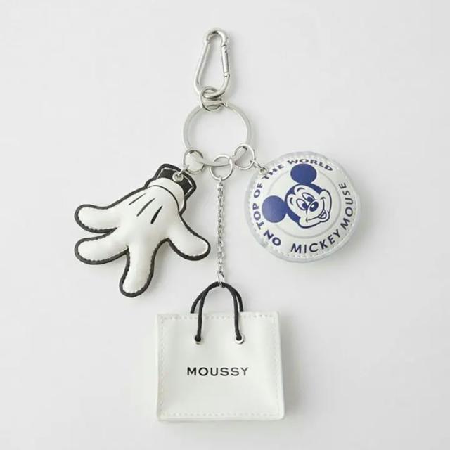 moussy(マウジー)の今月末までの出品★moussy キーホルダー レディースのファッション小物(キーホルダー)の商品写真