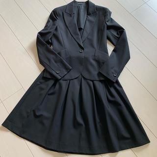 セオリー(theory)のセオリー ジャケット スカート スーツ 黒(スーツ)