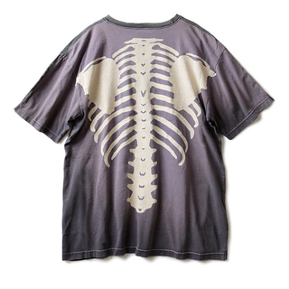 キャピタル(KAPITAL)のKapital Bone skelton 骨 Tシャツ(Tシャツ/カットソー(半袖/袖なし))