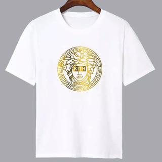 VERSACE - KITH VERSACE メドゥーサ 金 ゴールド プリント Tシャツ Mサイズ