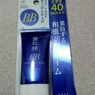 セッキセイ(雪肌精)の雪肌精 ホワイトBBクリーム エッセンスファンデーション 01(BBクリーム)