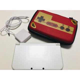 任天堂 - new Nintendo 3DS LL 本体(アダプター&ケース付き)