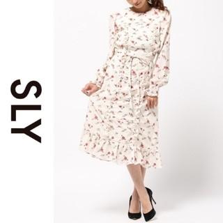 スライ(SLY)の美品◆SLY*スライ◆gypsophila dress フラワードレスワンピース(ロングワンピース/マキシワンピース)