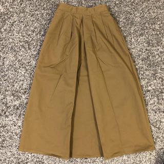 ジーユー(GU)のGU チノロングスカート(ロングスカート)