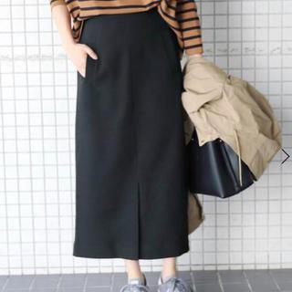 IENA SLOBE - ウーリッシュフラノサイドポケットスカート