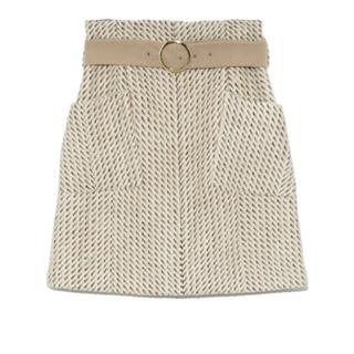 Lily Brown - 新品 完売品! リリーブラウン ツイード台形スカート