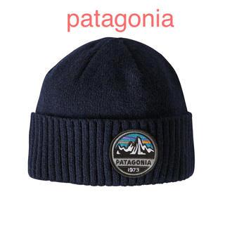 patagonia - パタゴニア ビーニー  ブロデオビーニー  ロゴ patagonia ニット帽