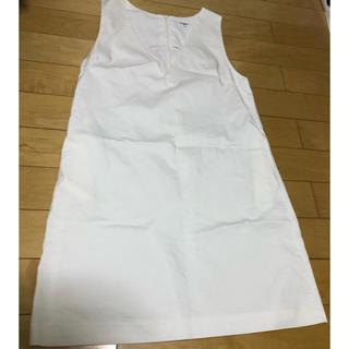 ナチュラルビューティーベーシック(NATURAL BEAUTY BASIC)のジャンパースカート(ひざ丈ワンピース)