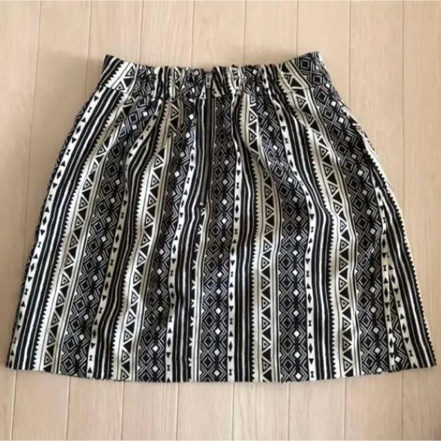 LOWRYS FARM(ローリーズファーム)のトライバル柄スカート レディースのスカート(ミニスカート)の商品写真