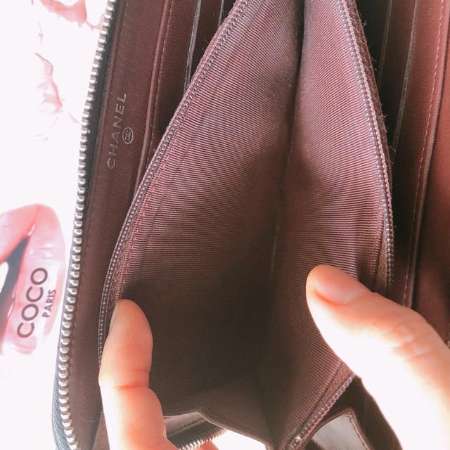 CHANEL(シャネル)の★CHANEL シャネル 財布 ラムスキン マトラッセ ラウンドファスナー ★ レディースのファッション小物(財布)の商品写真