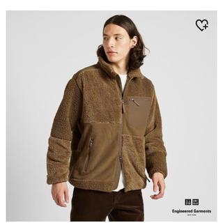 エンジニアードガーメンツ(Engineered Garments)のフリースコンビネーションジャケット ユニクロ ガーメンツ(ブルゾン)