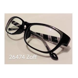 ゾフ(Zoff)の(送料込!)ゾフ ウェリントン型 軽量 眼鏡フレーム (サングラス/メガネ)
