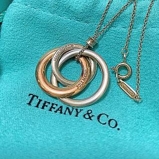 Tiffany & Co. - tiffanyインターロッキングサークルネックレス