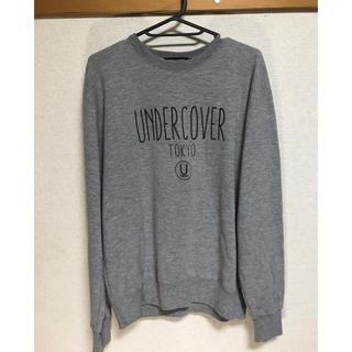 アンダーカバー(UNDERCOVER)のアンダーカバー スウェット グレイ Mサイズ(スウェット)