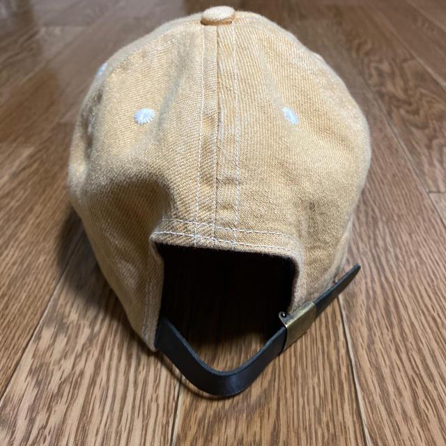 N.HOOLYWOOD(エヌハリウッド)のLQQK STUDIO×N.HOOLYWOOD cap マスタード デニム メンズの帽子(キャップ)の商品写真