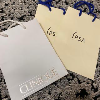 クリニーク(CLINIQUE)のイプサ クリニーク 紙袋(ショップ袋)