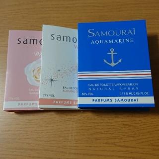 サムライ(SAMOURAI)のサムライウーマン 香水 サンプル(香水(女性用))