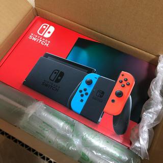 ニンテンドースイッチ(Nintendo Switch)のNintendo Switch 新型 新モデル 新品 未開封 スイッチ(家庭用ゲーム機本体)