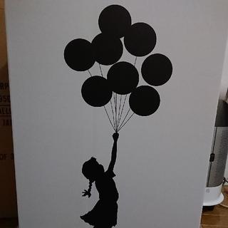 MEDICOM TOY - 未開封 BANKSY Flying Balloons Girl Red ver