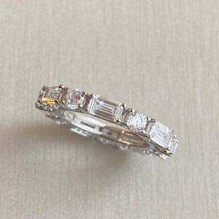 Drawer - 最高級 人工ダイヤモンド リング sona    フルエタニティ