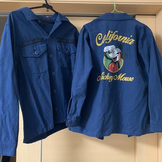 ロデオクラウンズ(RODEO CROWNS)のミッキーお揃いジャケット(シャツ/ブラウス(長袖/七分))