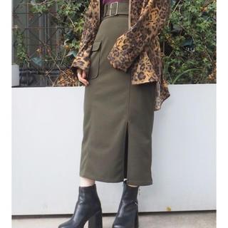 MURUA - 新品MURUA サイドポケットペンシルスカート