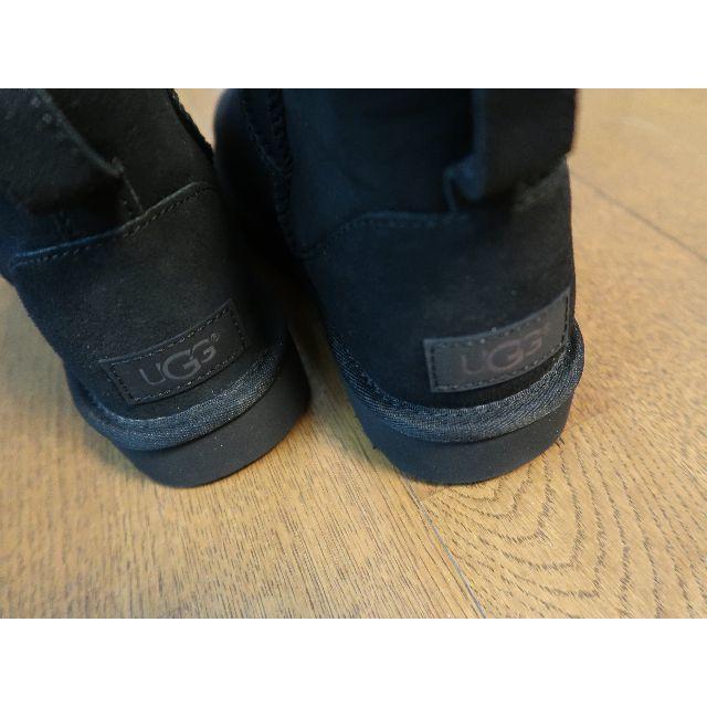 UGG(アグ)の☆新品☆アグ UGG CLASSIC MINI II (BLACK)23cm レディースの靴/シューズ(ブーツ)の商品写真