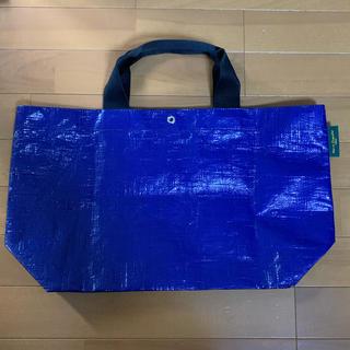 Herve Chapelier - 美品エルベシャプリエマルシェバッグ(エコバッグショッピングバッグ青ブルー)