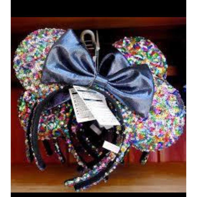 Disney(ディズニー)のディズニー ミニースパンコールカチューシャ レディースのヘアアクセサリー(カチューシャ)の商品写真