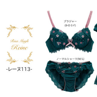 Risa Magli - 新品♡ Risa Magli レーヌ 上下セット C65