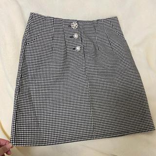 evelyn - evelyn*ビジューボタンスカート