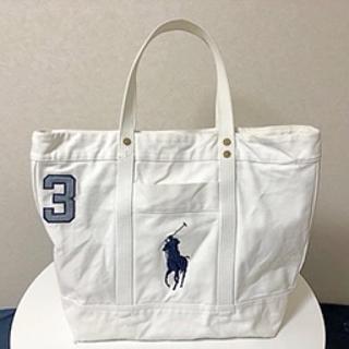 POLO RALPH LAUREN - 1/26まで Polo Ralph Lauren キャンバストートバッグ