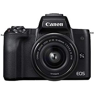 Canon - canon EOS kiss M レンズキット 黒