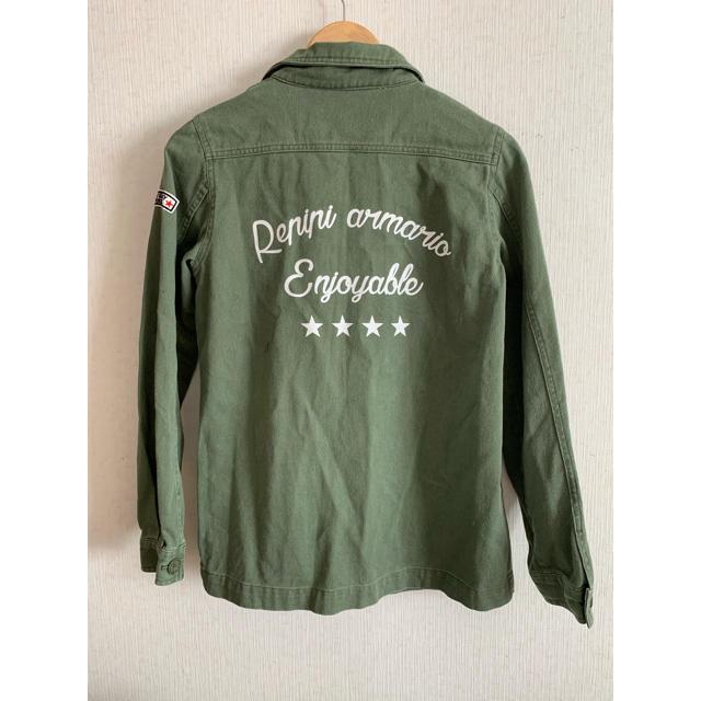 repipi armario(レピピアルマリオ)のレピピアルマリオ 上着 カーキ M キッズ/ベビー/マタニティのキッズ服女の子用(90cm~)(ジャケット/上着)の商品写真