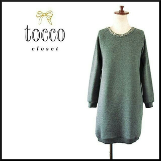 tocco - ★tocco closet★スェット ワンピース