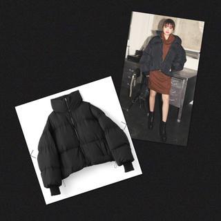 GRL - 未使用✨グレイル 中綿 ボリューム ダウン ジャケット ダウンコート ブラック