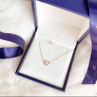 Vendome Aoyama - k18 ヴァンドーム青山 ダイヤモンドホースシューブレスレット
