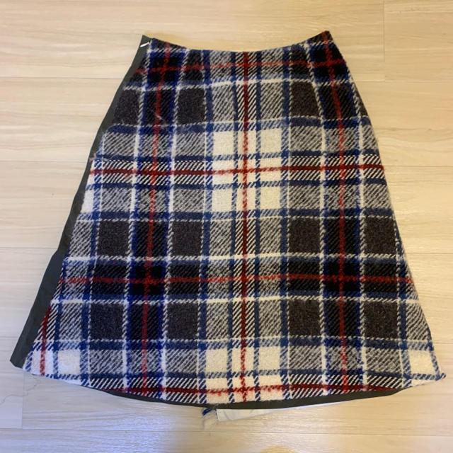 Chesty(チェスティ)のchesty チェックスカート Mサイズ レディースのスカート(ひざ丈スカート)の商品写真